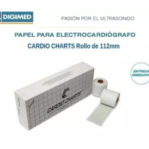 Papel Termosensible Para Ecg 112mm Caja X4 Rollos