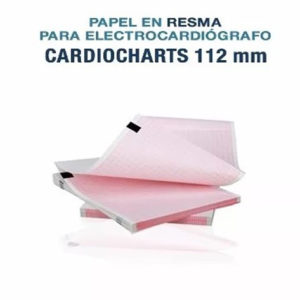 Papel En Resma Termosensible Para Ecg 112mm Digimed