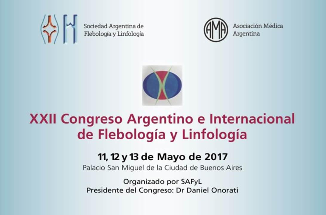 XXII Congreso Argentino de Flebología y Linfología