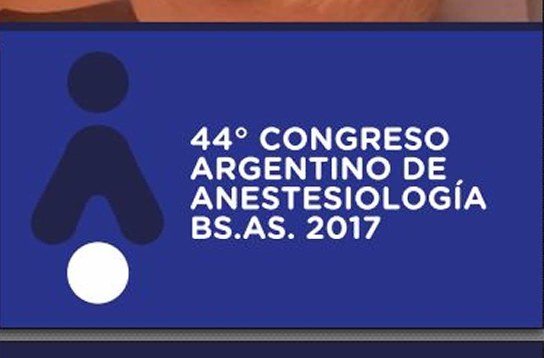 44º Congreso Argentino de Anestesiologia (FAAAAR)
