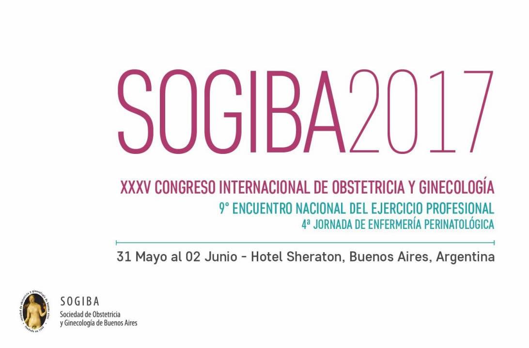 XXXV Congreso Internacional de Obstetrícia y Ginecología 2017 (SOGIBA)