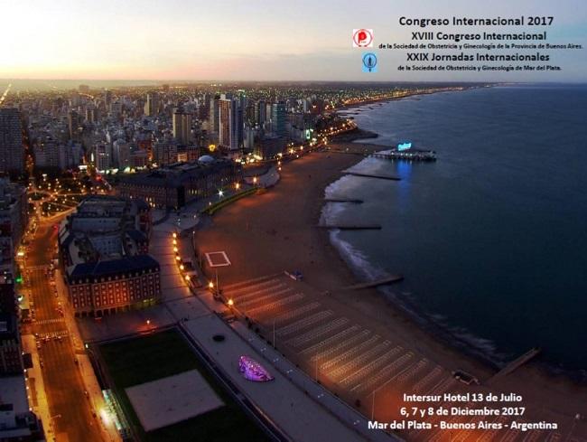 XVIII Congreso Internacional de la Sociedad de Obstetricia y Ginecología de la Provincia de Bs As.