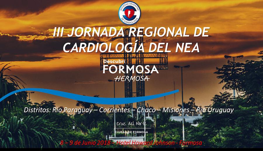 8 y 9 de Junio 3° JORNADAS REGIONALES 2018 | RÍO PARAGUAY – Hotel Howard Jhonson – Formosa