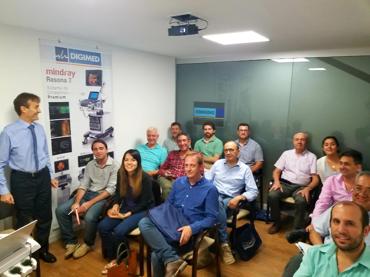 Digimed Córdoba brindó el Curso Intensivo de Imágenes Venosas de Miembros Inferiores