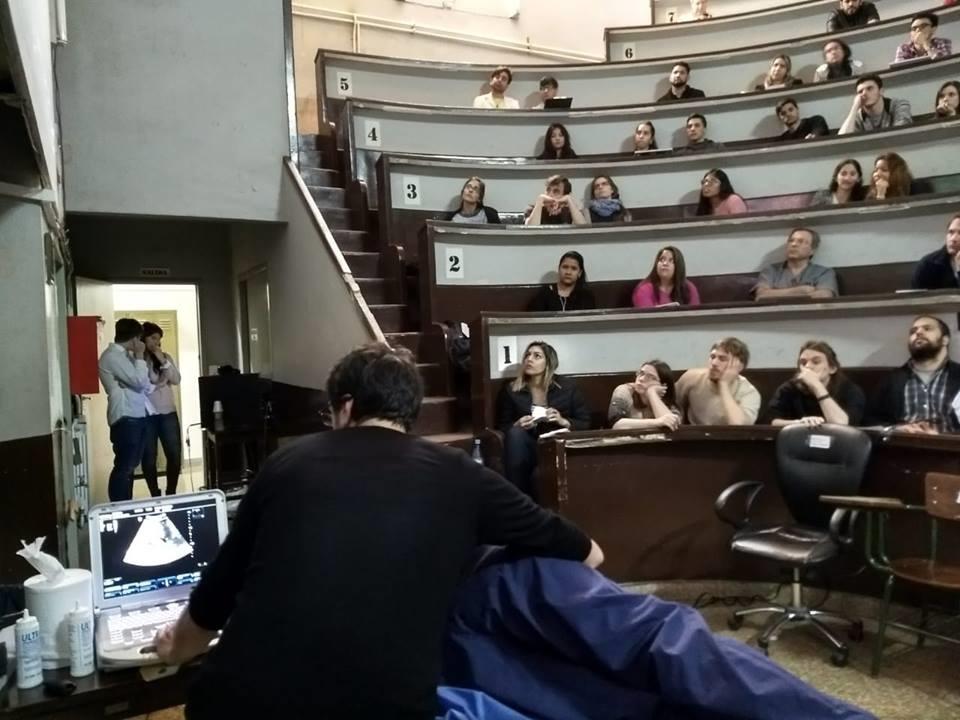 Digimed y sus profesionales presentes en la Jornada de Anatomía Ecográfica. Facultad de Medicina de la UBA