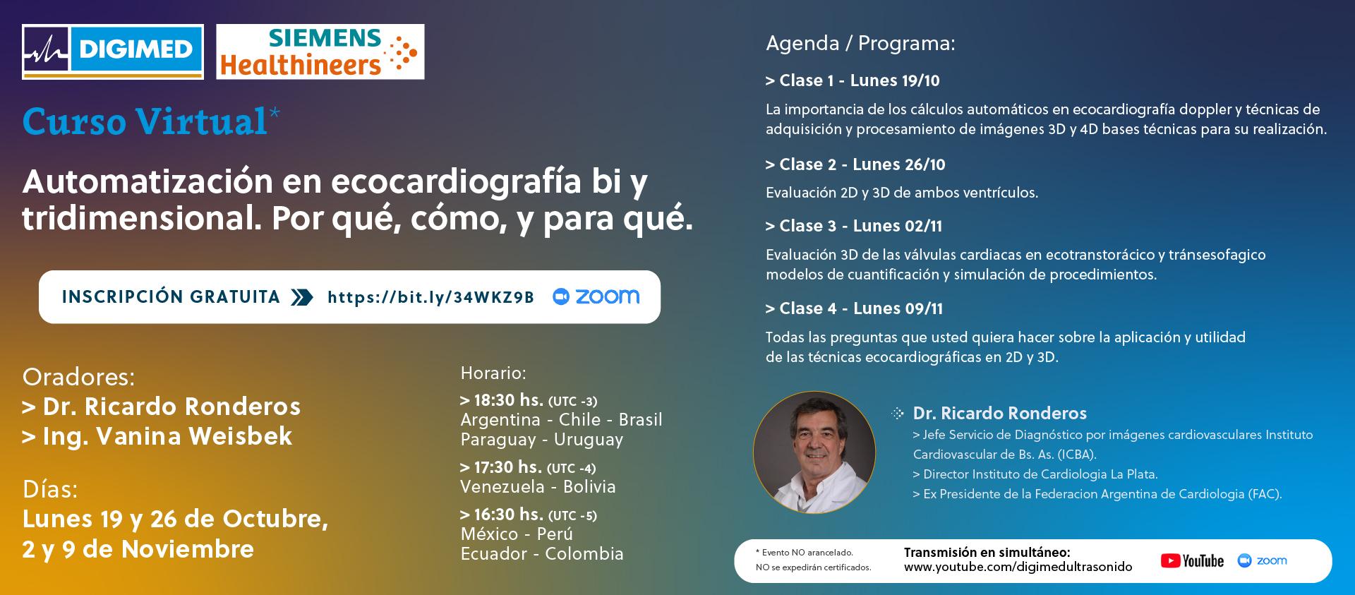 Curso Virtual - Dr. Ronderos