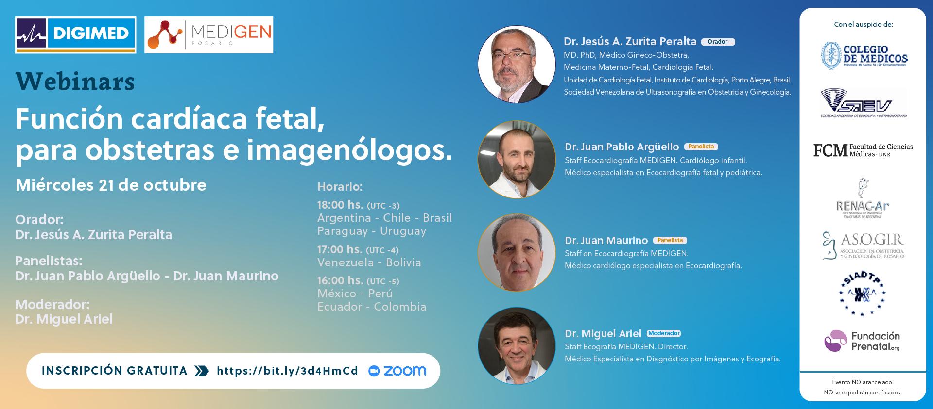 Webinar Medigen - Dr. Zurita Peralta